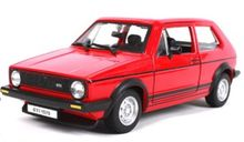 BBURAGO 1:24 - VW GOLF 1 1979, RED