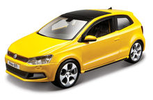 BBURAGO 1:32 - VW POLO MARK 5 GTI, YELLOW