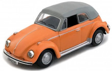 CARARAMA 1:72 - VW KEVER CABRIOLET (CLOSED TOP), ORANGE