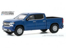 GREENLIGHT 1:64 - CHEVROLET SILVERADO 2020 HIGH COUNTRY *ALL TERRAIN SERIES 10*, NORTH SKY BLUE METALLIC