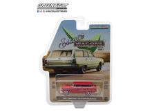 GREENLIGHT 1:64 - CHEVROLET TWO-TEN HANDYMAN 'ESTATE WAGONS SERIES 1' 1955, GYPSY RED