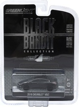 GREENLIGHT 1:64 - CHEVROLET VOLT 2016, 'BLACK BANDIT SERIES 12', BLACK