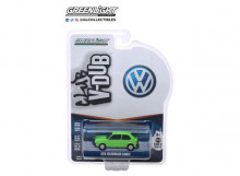 GREENLIGHT 1:64 - VOLKSWAGEN RABBIT 1975 *CLUB VEE-DUB SERIES 10*, RALLYE GREEN