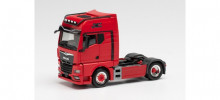 HERPA 1:87 - MAN TGX GX Individual Lion tractor, red