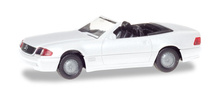 HERPA 1:87 - Mercedes-Benz 500 SL (R129), white