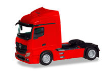 HERPA 1:87 - MERCEDES-BENZ ACTROS STREAMSPACE 2.3 TRAILER 2-AXLE, RED