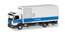 "HERPA 1:87 - Mercedes-Benz Atego box truck with liftgate ""Polizei Hamburg Entschärfer"""