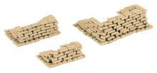 HERPA 1:87 - Military: Accessories sandags (200 pieces)