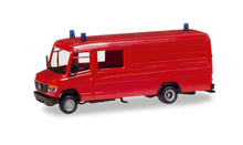 HERPA 1:87 - MiniKit: Mercedes-Benz box type GW-A/S, red, incl. beacon lights