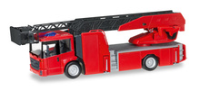 HERPA 1:87 - Minikit: Mercedes-Benz Econic turnable ladder truck, red