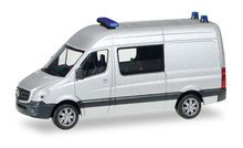 HERPA 1:87 - Minikit: Mercedes-Benz sprinter semi-bus, unprinted, silver