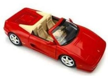 HOTWHEELS 1:18 - FERRARI F355 SPIDER 1994, RED (CU DEFECT)