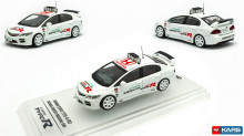 INNO MODELS 1:64 - HONDA CIVIC FD2 TYPE R *SUZUKI CIRCUIT MARSHAL CAR*, WHITE