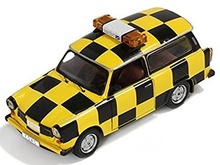 IST 1:43 - TRABANT P601 S, YELLOW/BLACK