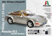 ITALERI 1:24 - PORSCHE 911 AMERICA ROADSTER 'TOPCARS COLLECTION' 84 PARTS