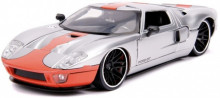JADA 1:24 - FORD GT 2005 SILVER/ORANGE