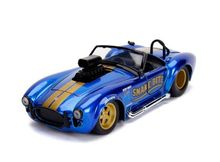 JADA 1:24 - SHELBY COBRA 427S S/C 'SNAKE BITE'1965, CANDY BLUE
