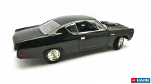 LUCKY DIECAST 1:18 - AMC REBEL MACHINE 1970 *ROAD SIGNATURE*, BLACK