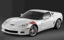 LUCKY DIECAST 1:24 - CORVETTE Z06 2007 WHITE