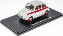 MAGAZINE MODELS 1:24 - FIAT NUOVA 500 SPORT 1958 WHITE / RED