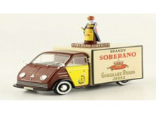 MAGAZINE MODELS 1:43 - DKW F89 1960 *SOBERANO*, BROWN/YELLOW