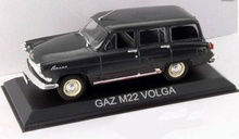 MAGAZINE MODELS 1:43 - GAZ M22 VOLGA *LEGENDARY CARS* BLACK