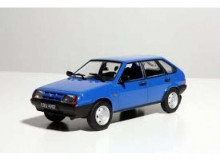 MAGAZINE MODELS 1:43 - LADA VAZ 2109 SAMARA *POLISH CARS* BLUE