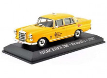 MAGAZINE MODELS 1:43 - MERCEDES 200 1962 *BRUXELLES TAXI*, YELLOW