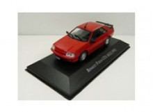 MAGAZINE MODELS 1:43 - RENAULT FUEGO GTA MAX1991, RED