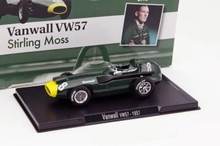 MAGAZINE MODELS 1:43 - VANWALL VW57 1957 #8 'STIRLING MOSS', GREEN/YELLOW