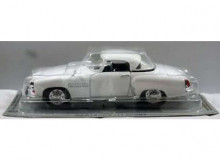 MAGAZINE MODELS 1:43 - WARTBURG 313 SPORT *POLISH CARS* WHITE