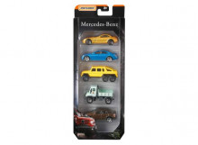 MATCHBOX 1:64 - MATCHBOX MERCEDES 5-PACK