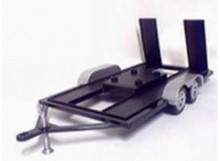 MOTORMAX 1:18 - DIE CAST AUTO TRAILER. GOOD FOR ALL YOUR MODELCARS.