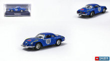 NOREV 1:87 - RENAULT ALPINE A110 #18 RALLY 1973