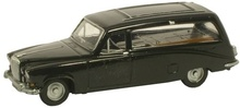 OXFORD 1:148 - DAIMLER DS420 LIMO HEARSE - BLACK