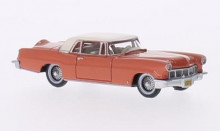 OXFORD 1:87 - LINCOLN CONTINENTAL MKII 1956, RED/WHITE