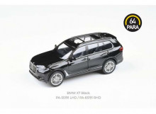 PARA64 1:64 - BMW X7 *LEFT HAND DRIVE*, BLACK