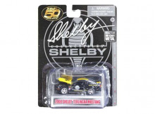 SHELBY COLLECTIBLES 1:64 - SHELBY MUSTANG 2008 TERLINGUA #08 BLACK/YELLOW