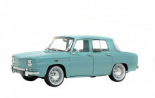 SOLIDO 1:18 - RENAULT 8 MAJOR 1967 AQUAMARINE