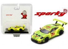 SPARK 1:64 - PORSCHE 911 GT3 R 2018 MANTHEY-RACING FIA #911 LAURENS VANTHOOR GT WORLD CUP MACAU *RESIN SE