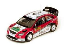 SUNSTAR 1:18 - FORD FOCUS RS WRC08 2009 'MUNCHIS' #9 F.VILLAGRA/ J.DIAZ 4TH RALLY ACROPOLIS'