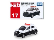 TOMICA TAKARA 1:58 - NISSAN MARCH POLICE CAR