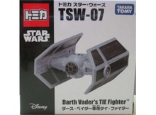 TOMICA TAKARA STAR WARS - STAR WARS TSW-07 DARTH VADER'S TIE FIGHTER