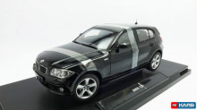 WELLY 1:18 - BMW 120I 2004, BLACK