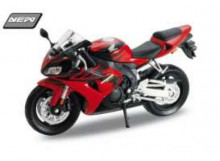 WELLY 1:18 - HONDA CBR1000RR FIREBLADE, RED/BLACK