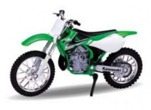 WELLY 1:18 - KAWASAKI 2002 KX 250, GREEN