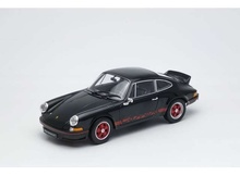 WELLY 1:18 - PORSCHE 911 CARRERA RS 1973, BLACK/RED