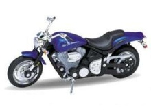 WELLY 1:18 - YAMAHA ROADSTER WARRIOR 2002, BLUE