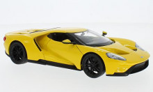 WELLY 1:24 - FORD GT 2017, YELLOW