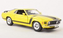 WELLY 1:24 - FORD MUSTANG 1970, YELLOW